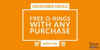 Free O-rings this month!