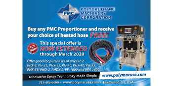 FREE 50' of PMC Heated Hose