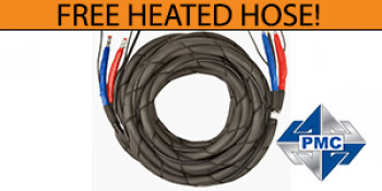FREE Heated Hose with PMC Machine Purchase