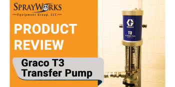 Product Review: Graco T3 Transfer Pump