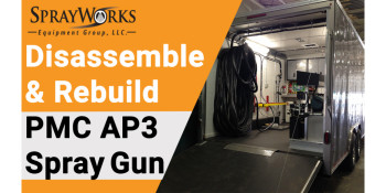 How to Disassemble and Rebuild a PMC AP3 Spray Gun